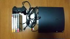 "Thumbnail of ""PS3 プレイステーション3 本体 コントローラー ソフト4本付き"""