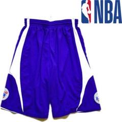 "Thumbnail of ""リバーシブルJr.NBA紫白ショートパンツ古着メンズLレディースOK514187"""