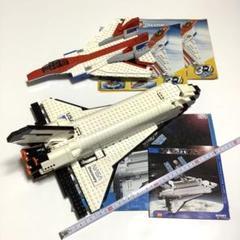 """Thumbnail of """"LEGO ジェット機 4953 + スペースシャトル・ディスカバリー 7470"""""""