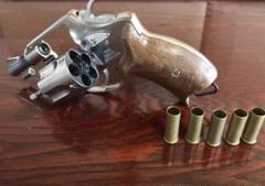 "Thumbnail of ""マルシン 8mm Police  Revolver ガスリボルバー ジャンク"""