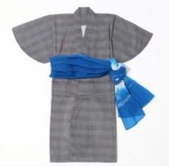 "Thumbnail of ""【京都丸紅×CIAOPANIC TYPY】格子柄浴衣帯SET 110-120"""