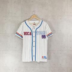 "Thumbnail of ""ROCA WEAR ロカウェア ベースボールシャツ メッシュ 刺繍 レア"""