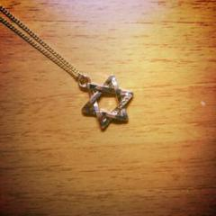 """Thumbnail of """"the hexagram goldnecklace"""""""