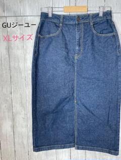 "Thumbnail of ""GU ジーユー デニム スカート タイト XL"""