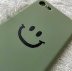 "Thumbnail of ""iphone7/8/SE2 グリーン ブラック スマイリー ソフトカバーシンプル"""