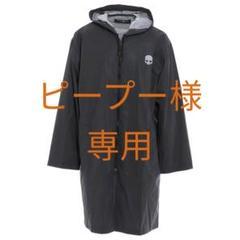 "Thumbnail of ""HYDROGEN レインコート 雨具 ミドル丈 ナイロン スカル ブラック"""