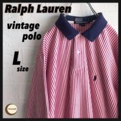 "Thumbnail of ""【フォロー割】Polo ラルフローレン ストライプ ヴィンテージ ポロシャツ"""