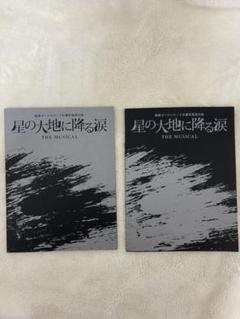 "Thumbnail of ""星の大地に降る涙 パンフレット 写真集"""