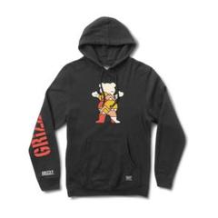 """Thumbnail of """"GRIZZLY Mountain Belt Hoodie Black - L"""""""