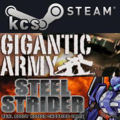 "Thumbnail of ""GIGANTIC ARMY + STEEL STRIDER Steam版を."""
