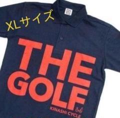 "Thumbnail of ""209.値下げ。木梨サイクル ゴルフ ポロシャツ ネイビー XLサイズ 新品"""