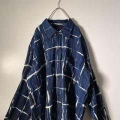 "Thumbnail of ""【ヴィンテージ】90's 総柄シースルーシャツ used スケルトン W2"""