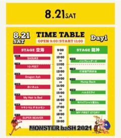 """Thumbnail of """"モンバス チケット  1日目 8/21 1枚"""""""