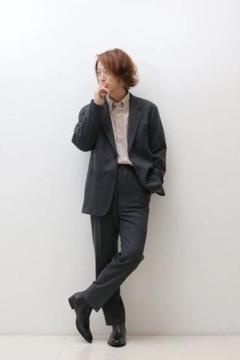 """Thumbnail of """"【未着用】UNIQLO U ユニクロ ウールブレンドジャージーパンツ 76"""""""