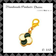 """Thumbnail of """"【C-145】クローバー フラワー ハンドメイドチャーム"""""""