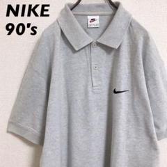 """Thumbnail of """"90s NIKE / ビッグシルエットポロシャツ / 刺繍ワンポイントロゴ"""""""