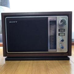 "Thumbnail of ""SONY ICF-9740 FM/AM ラジオ アンティーク"""