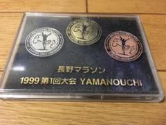 "Thumbnail of ""長野マラソン 1999年第1回大会 記念ピン"""