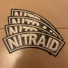 "Thumbnail of ""nitraid ステッカー4枚セット"""