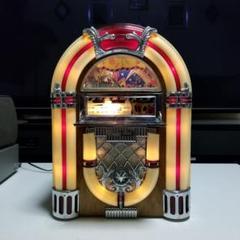 """Thumbnail of """"動作品 クラシック ジュークボックス カセット プレーヤー FM AM ラジオ"""""""