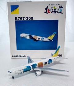 "Thumbnail of ""AIR DO B767-300 試される大地 北海道 JA01HD 1/400"""
