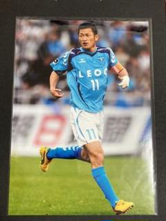 "Thumbnail of ""三浦知良 カズ Jリーグ横浜FC A4サイズ写真 フォト"""