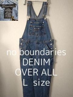 "Thumbnail of ""L no boundaries ノー バウンダリーズ デニム オーバーオール"""