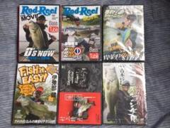 "Thumbnail of ""未開封 釣り  DVD   6枚セット"""