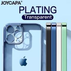 """Thumbnail of """"大人気  クリア 透明 メタリック シンプル iPhone ケース スマホケース"""""""