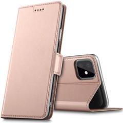 "Thumbnail of ""iphone11 ケース 手帳型 スタンド機能 QI対応 (ローズゴールド)"""