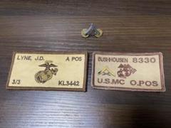 "Thumbnail of ""USMC 米海兵隊 階級章 ネーム セット"""