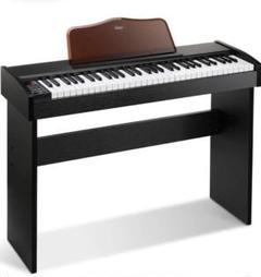 "Thumbnail of ""⭐️特大SALE⭐️電子キーボード 61鍵盤 一体型木製スタンド 500音色 デモ曲"""