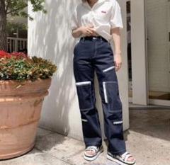 "Thumbnail of ""X-girl*#1 SKATER FLIGHT PANTS size0"""