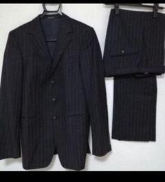 "Thumbnail of ""GUCCI グッチ スーツ 46 黒 ストライプ ウール素材"""