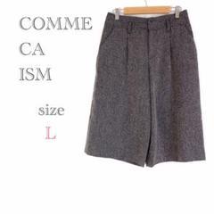 "Thumbnail of ""コムサイズム♡COMME CA ISM♡【L】ハーフパンツ ワイド 秋冬"""
