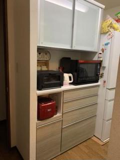 "Thumbnail of ""最終日セール 松田家具 ハウザー1180 食器棚 118幅 高さ220 大容量"""