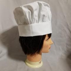 """Thumbnail of """"コック帽1枚 サイズ62cm 厨房 キッチン シェフハット 高さ23cm 布製"""""""