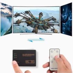 "Thumbnail of ""【4K 60Hz高解像度 多機種対応 】 HDMI切替器 分配器 セレクター"""