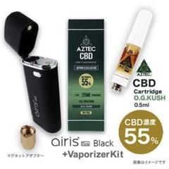 """Thumbnail of """"アステカ高濃度 CBD 55%リキッドO.G.クッシュ+Tickベイプ(黒)"""""""