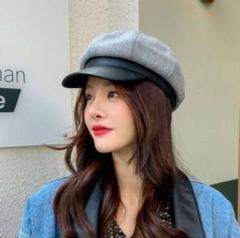 """Thumbnail of """"★大人可愛い★レトロ系◆ベレー帽◆ キャスケット 帽子PUレザー"""""""