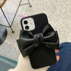 "Thumbnail of ""iPhone12pro用ケース、革のリボン98"""
