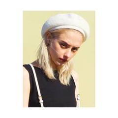 "Thumbnail of ""GYDA パイルベレー帽 ホワイト"""