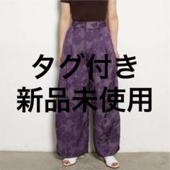 "Thumbnail of ""オパールフラワーワイドパンツ"""