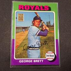 "Thumbnail of ""GEORGE BRETT REPRINT直筆サイン入りルーキーカード"""