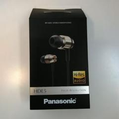 """Thumbnail of """"イヤホン パナソニック RP-HDE 5 未使用"""""""