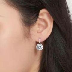 """Thumbnail of """"『品質重視』18kゴールドの新しいダイヤモンドの耳飾り 証書を付帯するR6"""""""