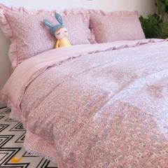 "Thumbnail of ""田園の韓版のレースの小さい花の小さい清新なベッドの上で4点セットの純粋な綿のすべ"""