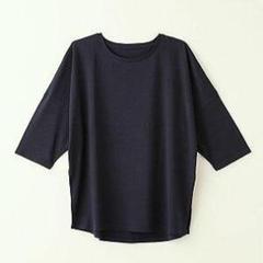 "Thumbnail of ""5分袖 Tシャツ タケフ takefu ダークネイビー M~L"""