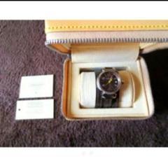 本物 高級 ルイヴィトン タンブール レディース 腕時計 ブラウン ブランド品
