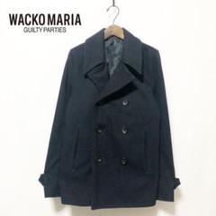 "Thumbnail of ""【WACKO MARIA】メルトンウール Pコート M"""